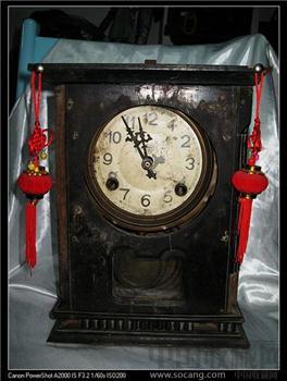 民国时期摆钟--烟台永业造钟厂出-收藏网