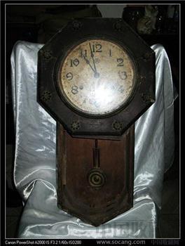 民国时期摆钟 -收藏网