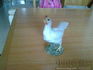 周轻鼎雕塑-公鸡-收藏网
