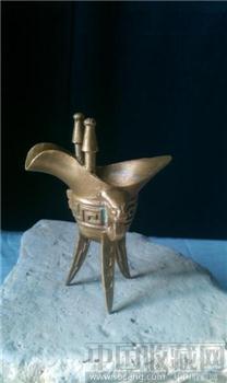 青铜酒樽-收藏网