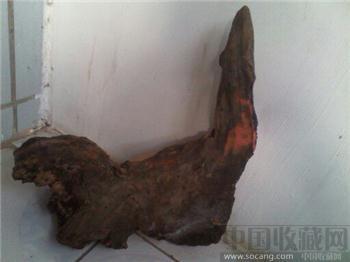 海南阴沉木天然海豹和潜水艇根艺 -收藏网