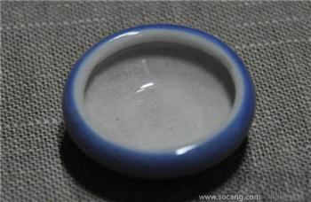 单色釉水盂-收藏网