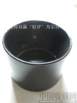 旧藏黑釉瓷小罐*包平 挂*-收藏网