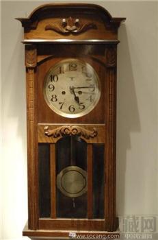 WANDUHR – 09 / WU-09 德国古董挂钟-收藏网