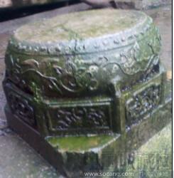 石墩雕花-收藏网