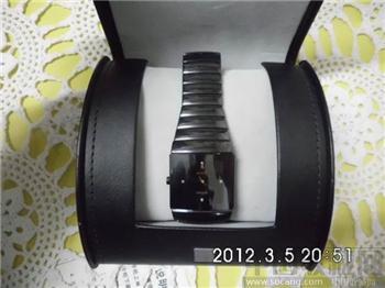 瑞士原装RADO04426TITANIUM雷达陶瓷银钻系列真钻款腕表-收藏网