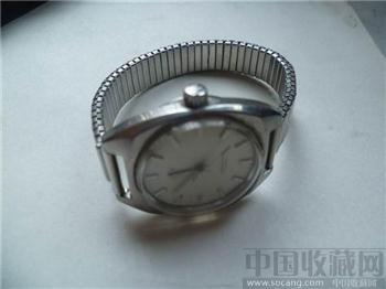 苏州手表厂UZHOU人工上发条腕表-收藏网