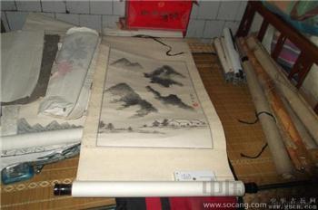 老的水墨画-收藏网