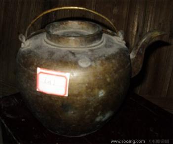 清代铜壶-收藏网