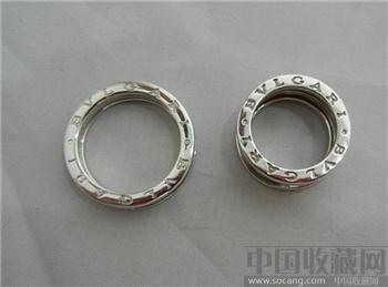 宝格丽 750白金戒指-收藏网