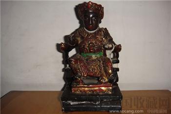 木雕佛像-收藏网
