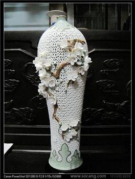 名师王龙才美术陶瓷作品《玉立》-收藏网