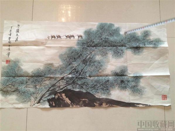 张登堂现代书画作品-菩提树艺术馆-中国收藏网