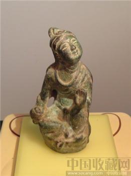 汉唐铜造象(与13158722229询-收藏网