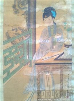 苏六朋人物画-中国收藏网