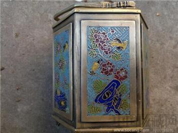 烧蓝铜壶-收藏网