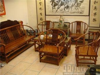 越南琥珀纹黄花梨家具-收藏网