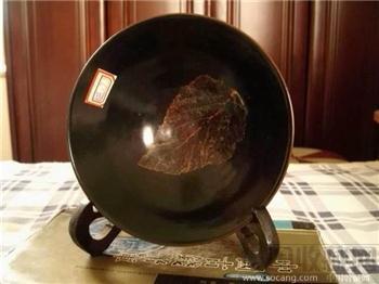 吉州窑木叶纹碗-收藏网