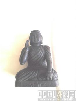 红木释迦摩尼佛像-收藏网