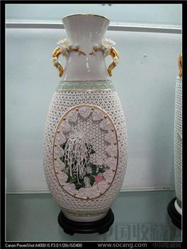 名师吴如潮美术陶瓷作品《花蕊》--不议价-收藏网