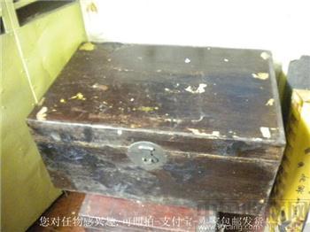旧藏'张隆泰号'老箱子75cmx50cmx35 包物流-收藏网