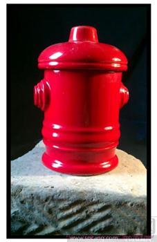火车信号灯红色瓷缸-收藏网