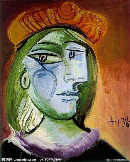 梵高抽象画人物