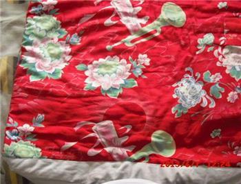 稀见文革   大   棉被   全国山河一片红-收藏网