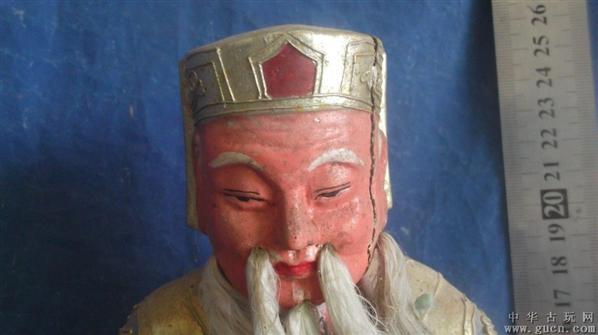 木雕佛像之财神爷菩萨