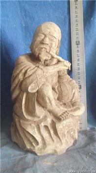 水黄杨木雕刻的,很沉,能治病,不是水黄杨木不要一分钱-收藏网
