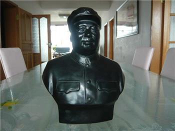 煤精毛主席雕像-收藏网