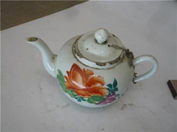解放初期茶壶 -收藏网