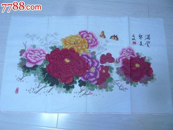 幼儿园中国风卷轴式边框简笔