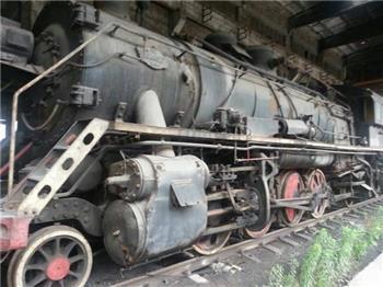 蒸汽火车头-收藏网