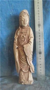 木雕佛像,香樟木雕刻,味道非常香 -收藏网