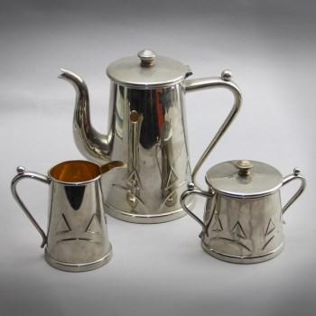 镀银咖啡具3件套-中国收藏网