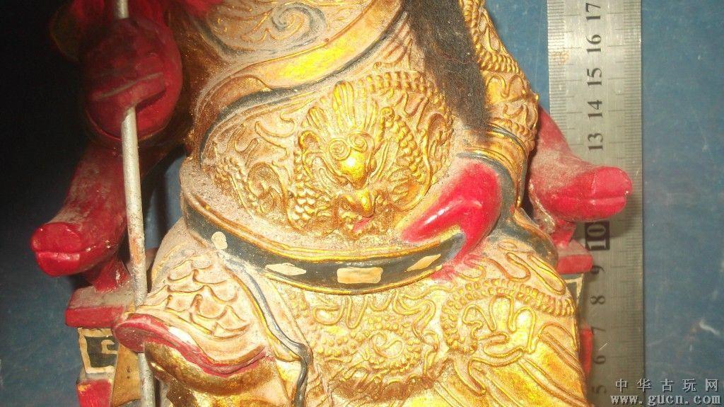 木雕关公像,包是精品
