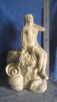 木雕仙女,让她永远陪伴你 -中国收藏网