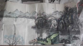 山水画国画,八十年代的 -收藏网