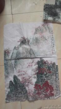 桃花源里的生活,那房子住着快乐的人们,2002年画的 -收藏网