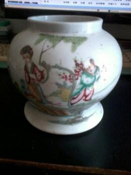 民国粉彩小罐-收藏网