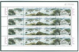 1998-17镜泊湖版张-收藏网