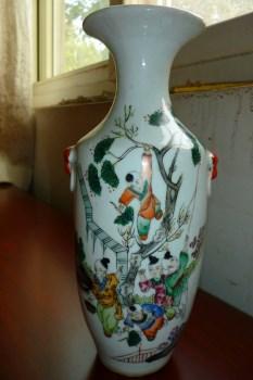 民国 五彩瓶-收藏网