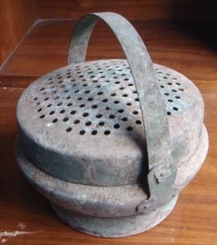民国铜暖炉-收藏网