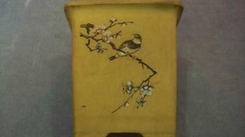 文革精品紫砂花盆-收藏网
