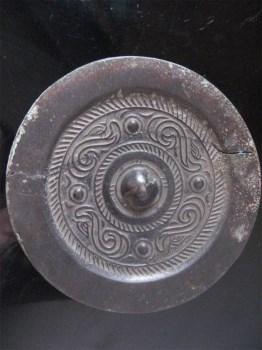 黑漆古汉代铜镜-中国收藏网