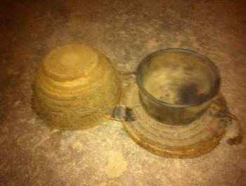 藏式木碗牛毛碗套-中国收藏网