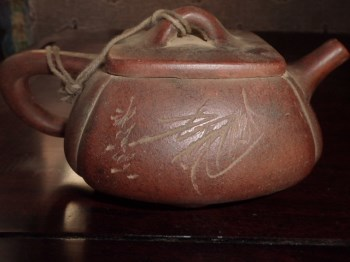 紫砂茶壶(包老)-收藏网
