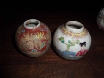 民国小罐子2个-收藏网