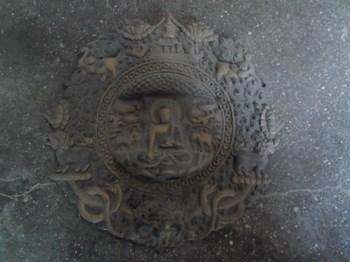 铜壁挂佛-收藏网